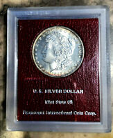 1885-O MORGAN DOLLAR $ PARAMOUNT INTERNATIONAL COIN CORPORATION MINT STATE 65