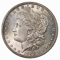 RAW 1898 MORGAN $1 UNCERTIFIED UNGRADED US MINTED SILVER DOLLAR COIN