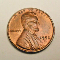 1952 D LINCOLN CENT / PENNY BU / MS RB - MINT STATE RED-BROWN  SHIPS FREE