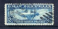 US STAMPS   C15   USED   $2.60  ZEPPELIN AIR MAIL ISSUE   CV