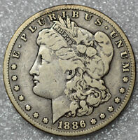 1886-S  MORGAN SILVER DOLLAR 5469