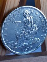 1878 S TRADE SILVER DOLLAR. GEM    BEAUTIFUL COIN.  LE541