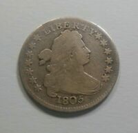 SO  1805 DRAPED BUST DIME - PROBLEM FREE GREAT DETAIL - MAKE ME AN OFFER