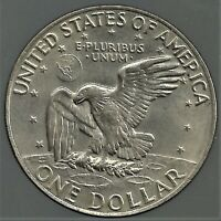 1974 $1 EISENHOWER AMERICAN DOLLAR. BUY THE COIN YOU SEE.
