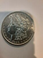 1896 MORGAN SILVER DOLLAR VF - SEE PICTURE 1052A