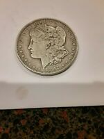 1902 MORGAN SILVER DOLLAR VF - SEE PICTURE 1595