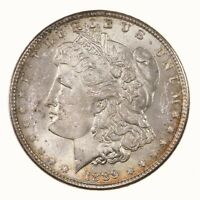 RAW 1889 MORGAN $1 UNCERTIFIED UNGRADED US MINT SILVER DOLLAR COIN