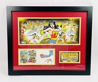WONDER WOMAN DC COMICS SUPER HEROES USPS FIRST DAY OF ISSUE STAMP 2006 COMIC CON