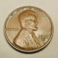1937 S LINCOLN WHEAT CENT / PENNY   AG OR BETTER   SHIPS FREE