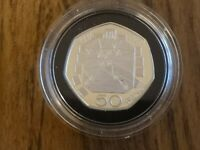 1992 1993 SILVER PROOF 50P FIFTY PENCE COIN   13.5G   EEC DU