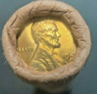 1947-D ORIGINAL BANK WRAPPED ROLL LINCOLN CENTS