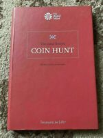 GREAT BRITISH 50P COIN HUNT COLLECTOR ALBUM 2015 BY THE ROYAL MINT RED ALBUM
