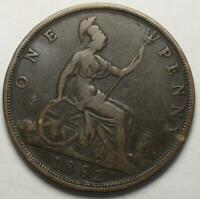 GREAT BRITAIN 1882 PENNY OLD DATE QUEEN VICTORIA