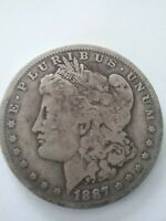 1887 O NEW ORLEANS MINT MORGAN SILVER DOLLAR  APPEALING CIRCULATED CONDITION