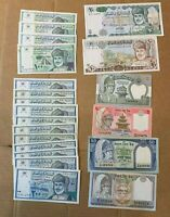 OMAN CURRENCY LOT BAISA  UNCIRCULATED 99C   WITTER COIN