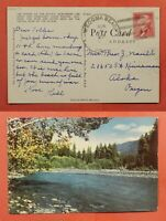DR WHO DPO 1949 1957 WECOMA BEACH OR POSTCARD C226826