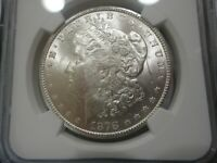 SILVER ,WHITE LUSTERFULL 1878CC FRESHLY GRADED CERTIFIED NGC MINT STATE 62 LOOKS BETTER