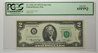 FR. 1935-A 1976 $2 BOSTON PCGS GEM NEW 65 PPQ