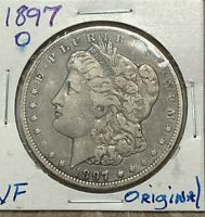 1897 O VF ORIGINAL  MORGAN DOLLAR  FROM MY OLD COLLECTION