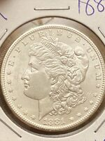 1881-S MORGAN DOLLAR BU UNCIRCULATED- FRESH FROM OLD ROLL-STUNNING LUSTER