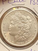 1881-S MORGAN DOLLAR BU PROOF LIKE LOOKING APPEARANCE- OLD ROLL COIN-BEAUTIFUL