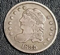 1835 US CAPPED BUST HALF DIME -  COIN     RA56
