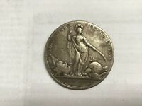 OLD BRITISH SILVER COIN 1736 CAROLINE PROTECTION ?
