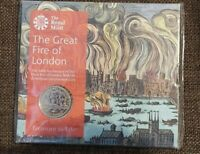 2016 THE ROYAL MINT THE GREAT FIRE OF LONDON 2 POUND   SEALE