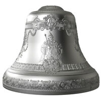 TSAR BELL 4 OZ 3D BELL SHAPED PROOF SILVER COIN 10$ NIUE 201