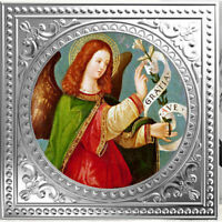 ARCHANGEL GABRIEL   ITALIAN SCHOOL PROOF SILVER COIN 1$ NIUE