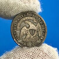 1830 SILVER CAPPED BUST HALF DIME 5C EARLY UNITED STATES OF AMERICA SILVER COIN