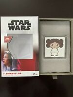 2020 CHIBI COIN PRICESS LEIA 1OZ SILVER COIN   ON HAND NO RE