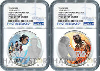 2019 STAR WARS: THE RISE OF SKYWALKER   REY & KYLO   NGC PF7