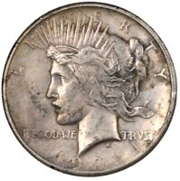 1921 PEACE SILVER DOLLAR HIGH RELIEF KEY DATE $1 - CIRCULATED -