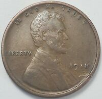 3  FINE TO CH/AU LOW MINTAGE 1918 P LINCOLN WHEAT CENT