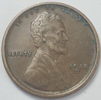 2  FINE LOW MINTAGE 1918 S LINCOLN WHEAT CENT