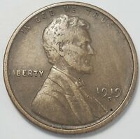 3  FINE LOW MINTAGE 1919 S LINCOLN WHEAT CENT