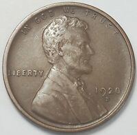 3  FINE LOW MINTAGE 1920 S LINCOLN WHEAT CENT