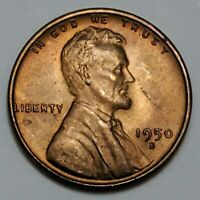 GEM BUSINESS UNCIRCULATED LOW MINTAGE 1955 S LINCOLN WHEAT CENT