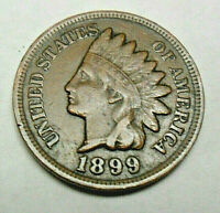 1899 P INDIAN HEAD CENT / PENNY AG OR BETTER  SHIPS FREE