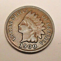 1900 P INDIAN HEAD CENT / PENNY  AG OR BETTER  SHIPS FREE