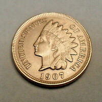 1907 P INDIAN HEAD CENT PENNY  GOOD OR BETTER  SHIPS FREE