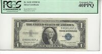 1935H 1 BILL/NOTE PCGS 40 PPQ SILVER ON DEMAND CLAUSE