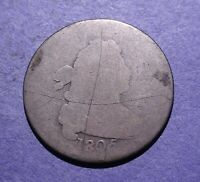 1805 DRAPED BUST DIME AG/POOR