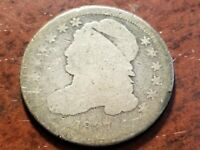 1837 CAPPED BUST SILVER DIME     INV04     DL423