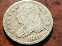 1834 CAPPED BUST SILVER DIME     INV04     DL419