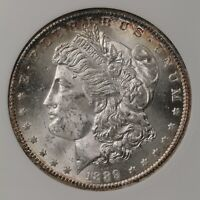 1889-S MORGAN $1 VAM-1 ANACS CERTIFIED MINT STATE 63 OLD HOLDER