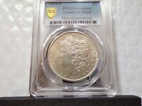 PQGOLD SHIELD 1894-O SILVER MORGAN $1894-O PCGS ABOUT UNC. CLEANED AT LEAST AU55