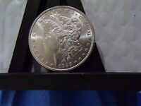 SILVER LUSTER FILLED 1885-P GEM MORGAN $ UNCIRCULATED FLASHY WHITE LUSTER