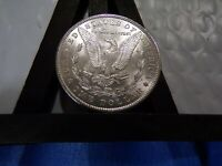 SILVER LUSTER FILLED 1889-P GEM MORGAN $ UNCIRCULATED FLASHY WHITE LUSTER